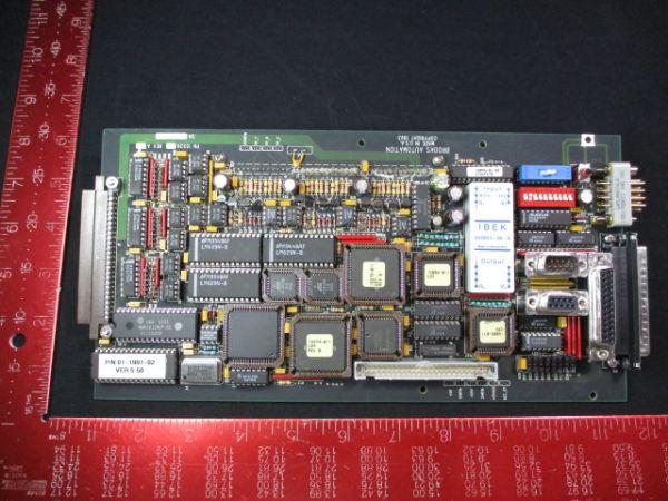 BROOKS-PRI AUTOMATION 001-5526-01 PRESSURE CONTROL PCB CTRL 20