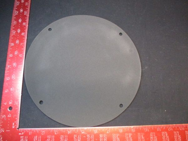 """Applied Materials (AMAT) 0020-23306   CRYO/GATE VALVE GASKET 10"""" RUBBER"""