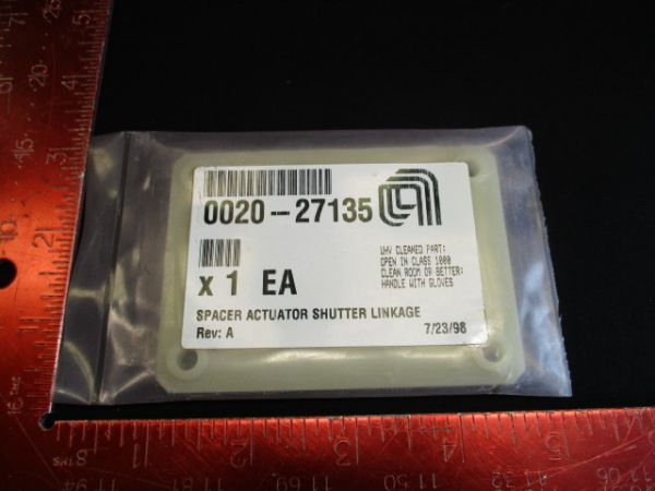 Applied Materials (AMAT) 0020-27135   SPACER ACTUATOR SHUTTER LINKAGE