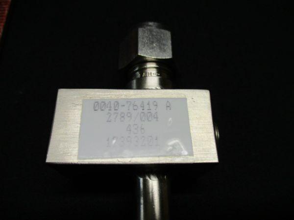 Applied Materials (AMAT) 0040-76419   BLOCK, SENSOR