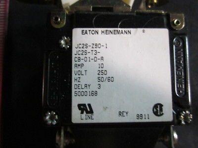 EATON JC2S-Z90-1 EATON HEINEMANN CULTER HAMMER BREAKER