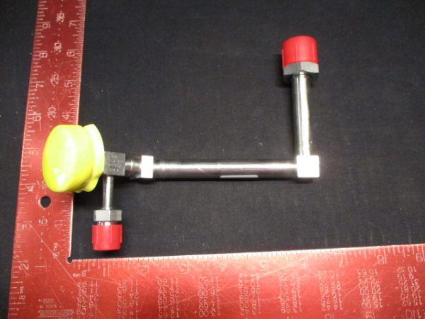 Applied Materials (AMAT) 0050-08618   ADAPTER, BARATRON W/B SHUTTER @ 2 & 4 MI