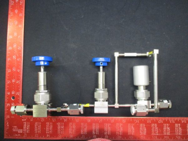 Applied Materials (AMAT) 0050-09468   WELDMENT, BYPASS W/ VALVE, EB