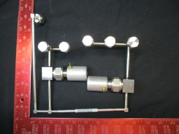 Applied Materials (AMAT) 0050-09880   WELDMENT, DUAL VALVE