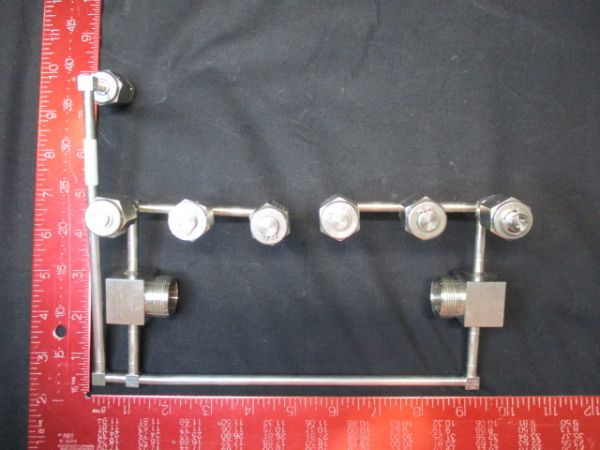 Applied Materials (AMAT) 0050-09881    PLUMBING WELDMENT DUAL VALVE