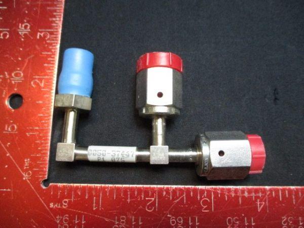Applied Materials (AMAT) 0050-37447   GAS LINE, WELDMENT