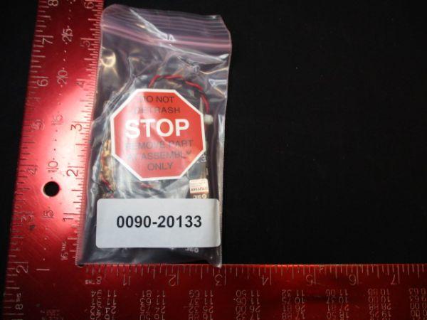 Applied Materials (AMAT) 0090-20133   ASSY VALVE 3 WAY 24V