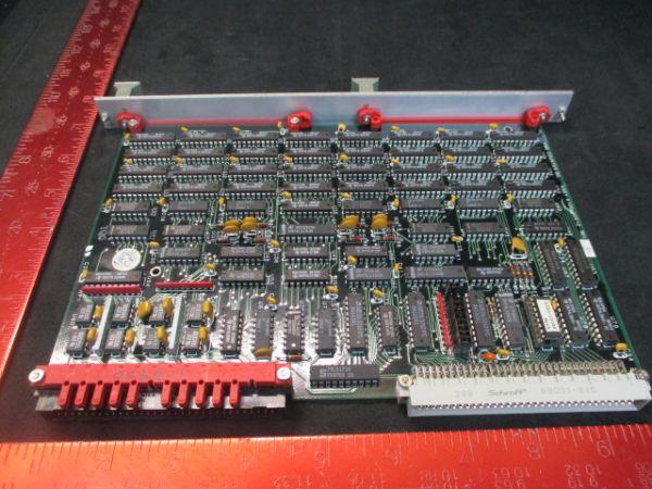 Applied Materials (AMAT) 0100-00012   VME COUNTER BOARD REV E PCB