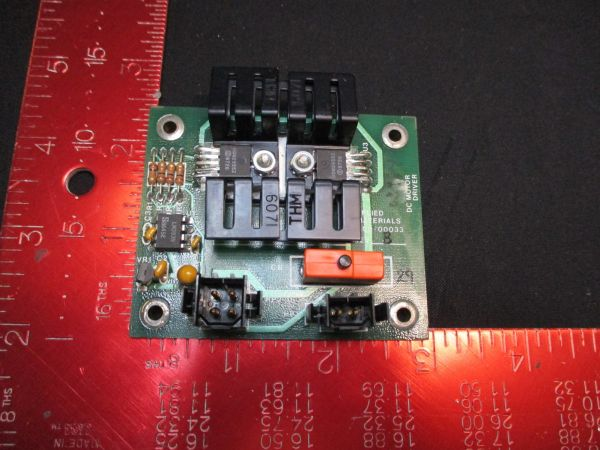 Applied Materials (AMAT) 0100-00033   PCB, DC Motor Driver