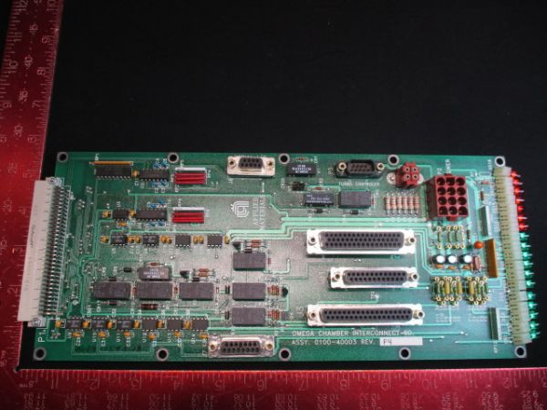 Applied Materials (AMAT) 0100-40003   PCB, CHAMBER INTERCONNECT