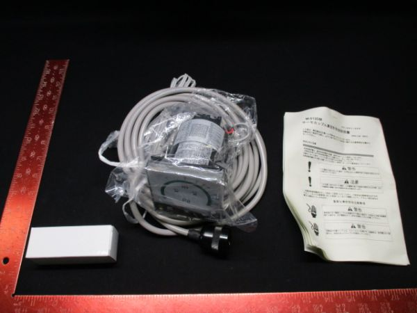 CANON ANELVA 0161-68573   METER, TC GAUGE MODEL M-012DM INCLUDING CABLE TG-550B