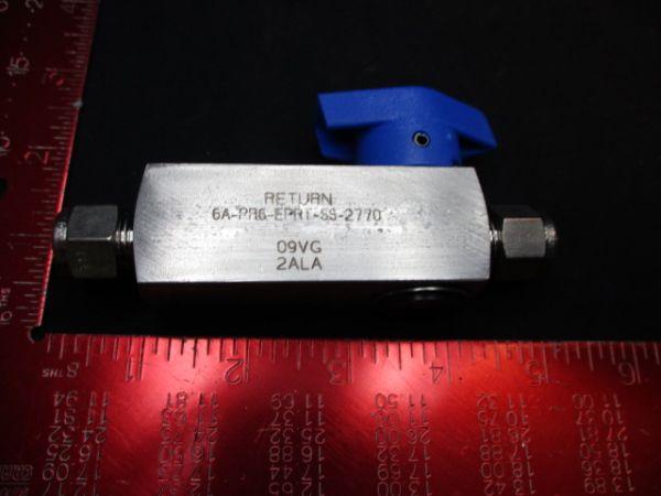 Applied Materials (AMAT) 0190-00872   Valve, FCW Return Centura MMF