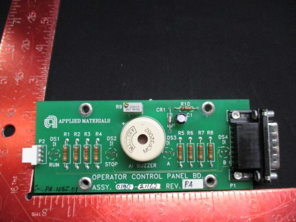Applied Materials (AMAT) 0190-21162   PCB, OPERATOR PANEL