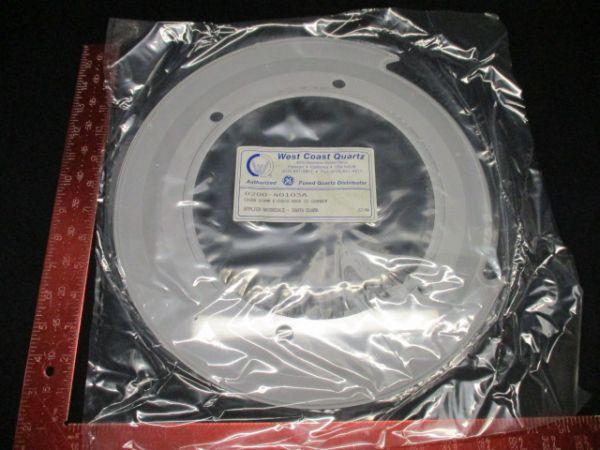 Applied Materials 0200-40103 WEST COAST QTZ CVR 200MM, ECHUCK, MARK IV CHAMBER