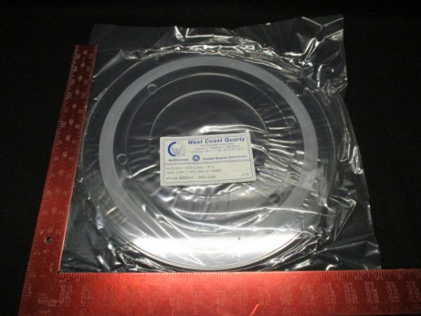 Applied Materials (AMAT) 0200-40104 WEST COAST QUARTZ  COVER, CATHODE ESCS 150MM