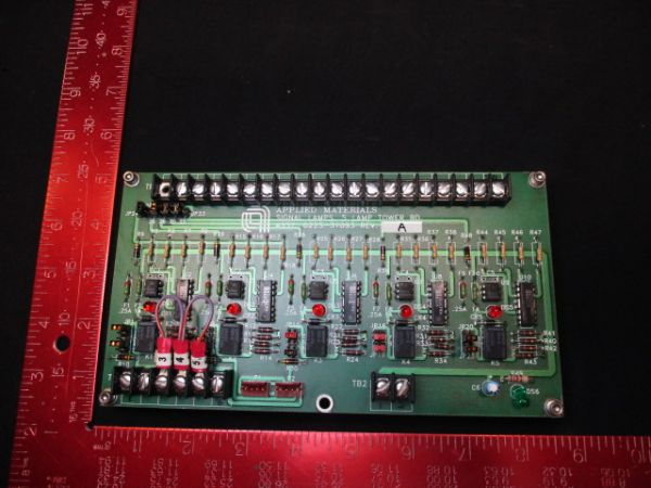 Applied Materials (AMAT) 0225-31093   PCB, 5 LAMP TOWER BOARD