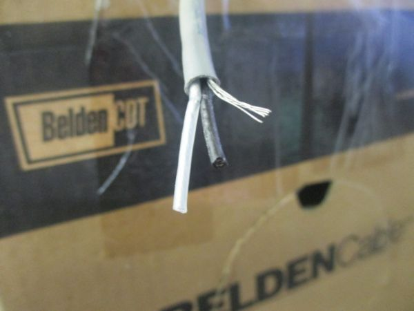 BELDEN 03F1671 CABLE, SHIELDED 18AWG 3COND. AUDIO