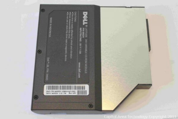 DELL 0695DV LATITUDE 24X VARIABLE CD-ROM MODULE