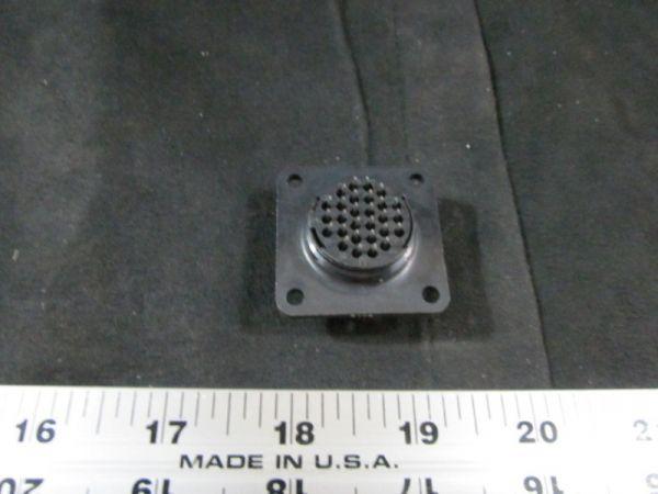Applied Materials (AMAT) 0720-01564 CONN RCPT PNL MTG 17-28 POS SRS 2A SQ FLANGE