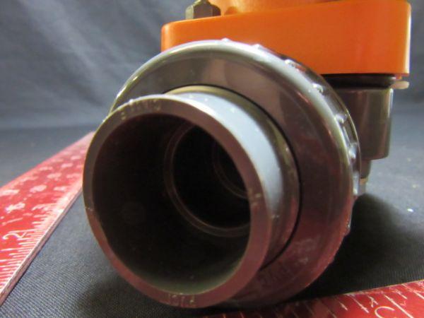 """Georg Fischer GmbH 161.314.233 VALVE TYPE 314 PVC 3/4"""" DN 20 PN 10"""