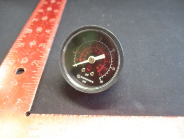 NORGREN 18-013-214 AIR GAUGE 0-30 PSIG