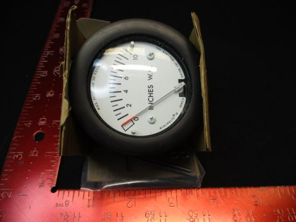 DWYER INSTRUMENTS 2-5010 GAUGE, MINIHELIC
