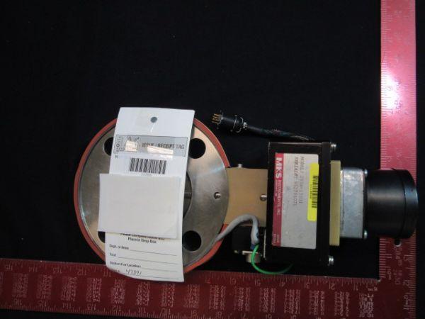 MKS-HPS 253A-13101 Used HEATED THROTTLE, CONTROL VALVE