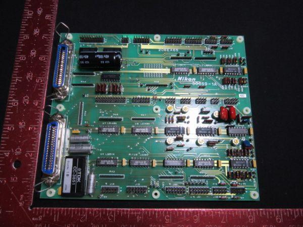NIKON  30059-1A PCB, MAINBODY LOADER/UNLOADER, KBB00013-AE1