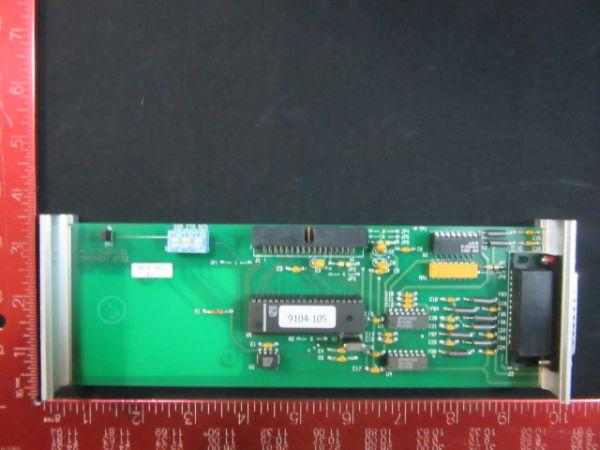 Granville-Phillips 307019 RS-232 INFERFACE CARD MODULE