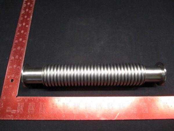 """Applied Materials (AMAT) 3400-01230   HOSE FLEX SST NW40 12""""LG"""