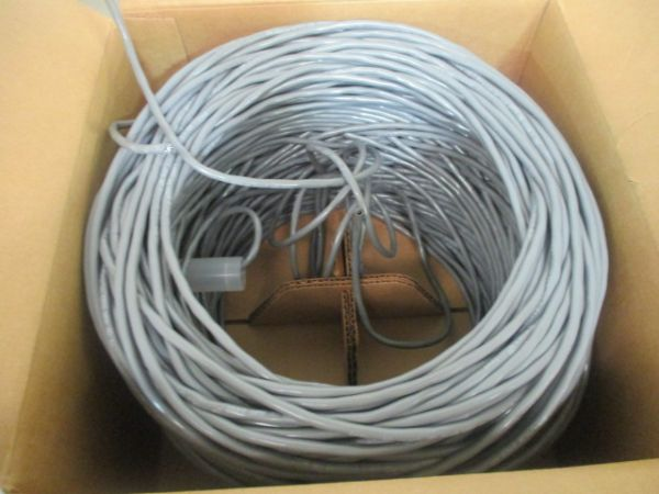 BELDEN 36F166WF CABLE, TWISTED 1 PR 20AWG 2COND. 400FT