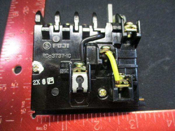 FUJI ELECTRIC 3737-1C RELAY, THERMAL OL