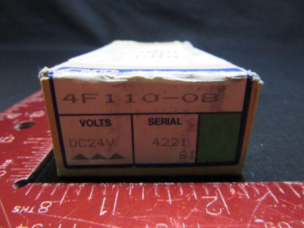 CKD CORPORATION 4F110-08 SOLENOID VALVE DC24V