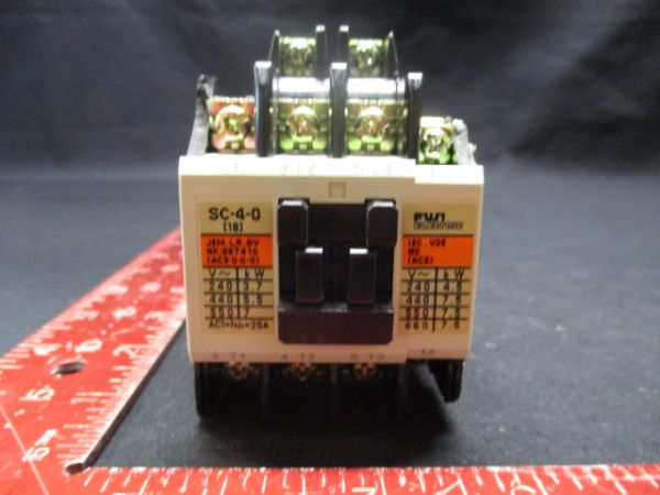 FUJI ELECTRIC 4NC0Q0 SC-4-0 AC CONTACTOR