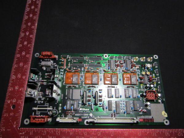 NIKON 4S017-095   Used PCB, IUINF2,KBB00636-AE01 NSR-1755G7A