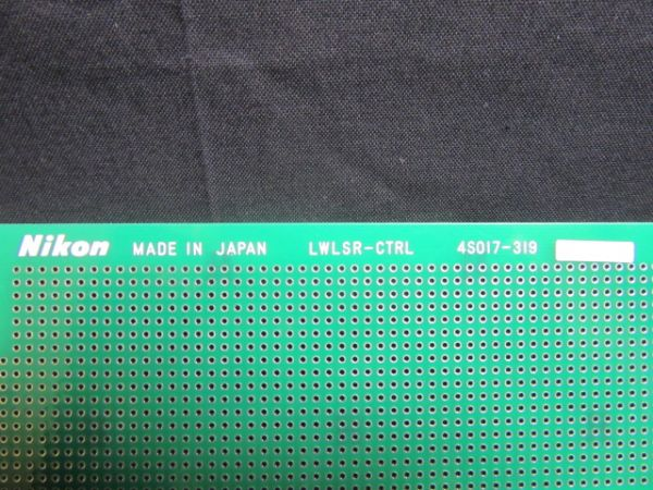 NIKON 4S017-319   PCB, LWLSR-STRL,KBA01800-AE31