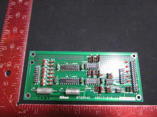 NIKON 4S017-619-1A   PCB, STGDVAC,KBB04111-AE03