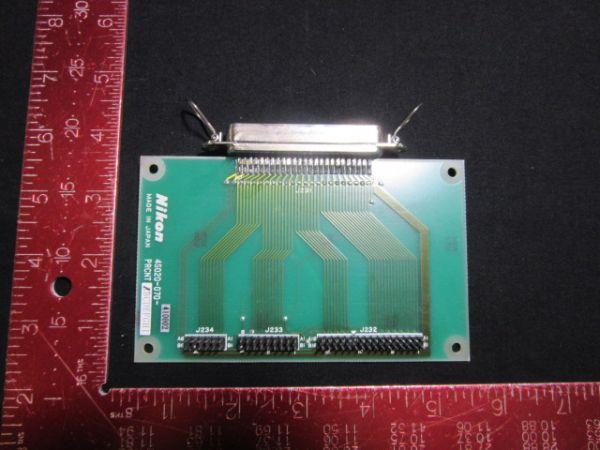 NIKON 4S020-070   PCB, PRCNT,KBA01800-AE03-1