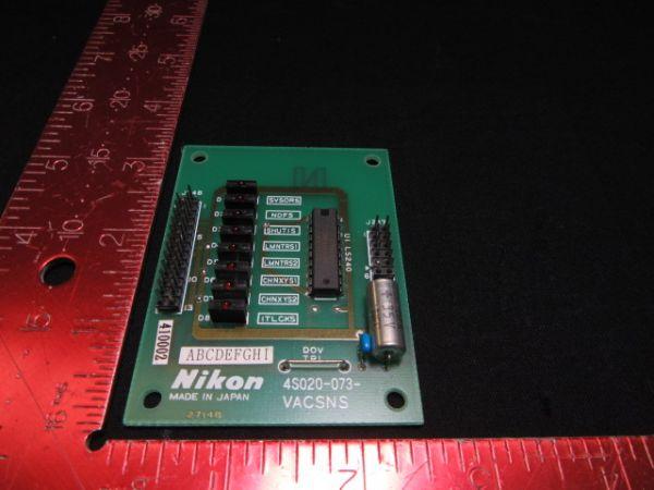 NIKON 4S020-073   PCB, VACSNS, KBA01800-AE06