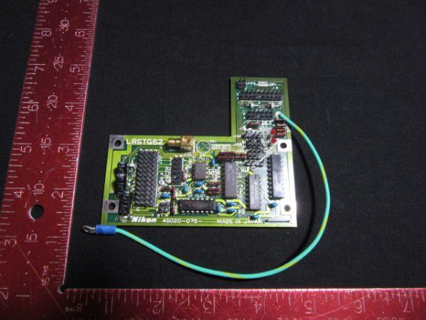 NIKON  4S020-075   PCB, LRSTG62,KBA01800-AE08