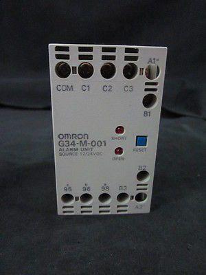 OMRON G34-M-001 ALARM UNIT 12/24 VDC