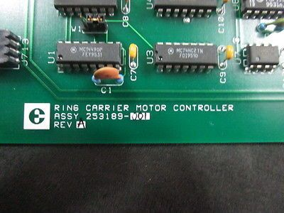 ELECTROGLAS 253189-001 PCB, Board, Ring Carrier Motor Contoller Assembly