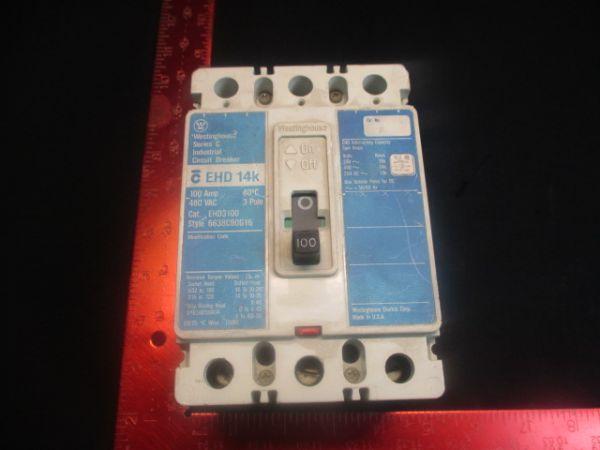 WESTINGHOUSE 6638C90G16 SERIES C, 100 AMPS, 480 VAC