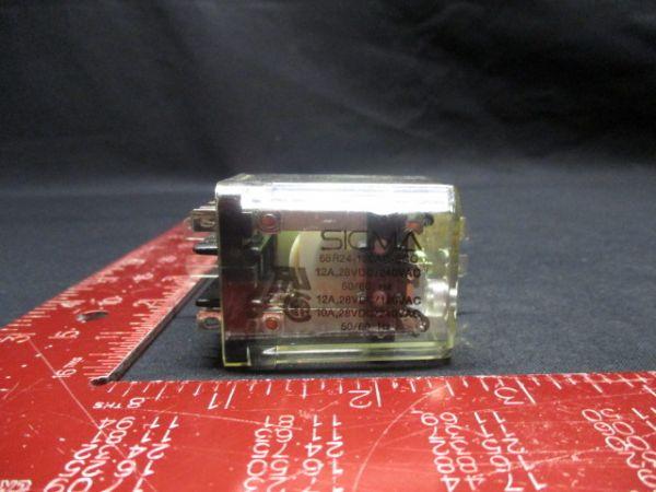 Sigma 68R24-120AC-SCO RELAY 12A, 28VDC/240VAC 50/60 Hz