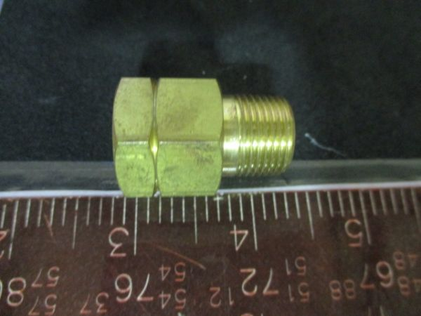 Parker 6NA6-B FITTING, 3/8IN. BRASS NPT TO PT MALE 6NA