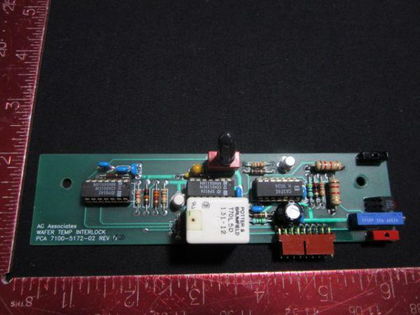 AG Associates 7100-5172-02 PCB WAFER TEMP INTERLOCK