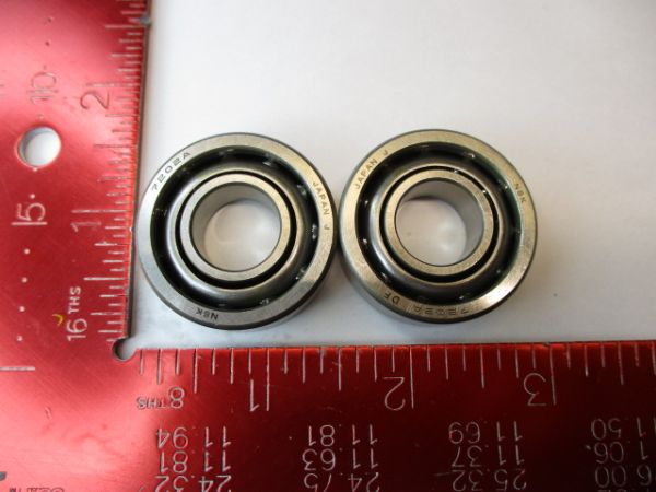 NSK 7202AWDF BEARING, BALL 1SET=2