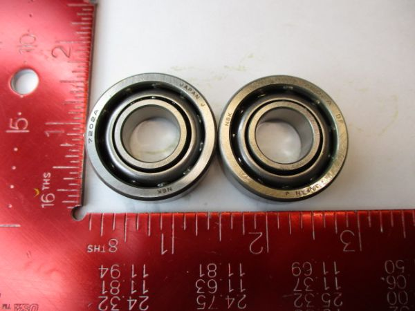 NSK 7202AWDF BEARING, BALL SET=2