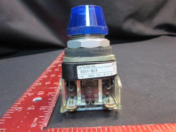 Allen-Bradley 800T-Q24N LAMP, INDICATOR 24V BLUE ROUND