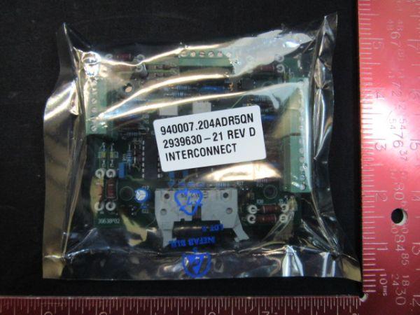 Levitech 2939630-21 PWBA INTERCONNECT SCR 4-CH PCB REV D
